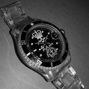 Other - A & G Chrome Watch LA hearts bwl Submariner gmt